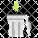 Bins Trash Bin Trash Icon
