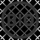 Bio Symbol Icon
