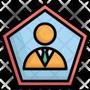 Bio Businessman Person Icon