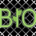 Bio Organic Natural Icon