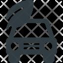 Bio car Icon