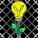 Bioenergy Renewable Energy Organic Energy Icon