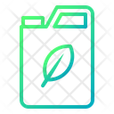 Bio Gasoline Green Icon