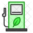 Bio Gasoline Station Icon