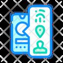 Bio Metric Data Biometric Data Icon