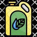 Bio Oil Fuel Ecology Icon