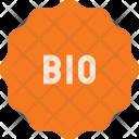 Bio Sticker Icon