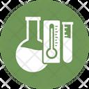 Bio Testing With Flask Biotechnology Lab Testing Icon