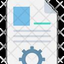 Biodata Cog Cogwheel Icon