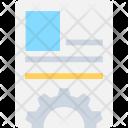 Biodata Cv Resume Icon