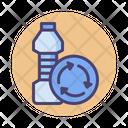 Biodegradable Plastic Recyle Plastic Reuse Icon