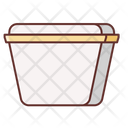 Mbiodegradable Bowl Icon