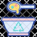 Biodegradable Bowl Icon