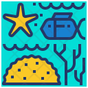 Biodiversity Coral Reef Icon
