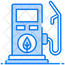 Biofuel Fuel Pump Gas Station Icon