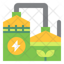 Ibiogas Biogas Electric Icon