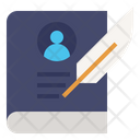 Biography Life Story Icon