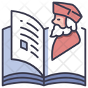 Biography Book Icon