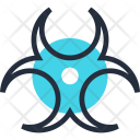 Biohazard Biological Danger Icon