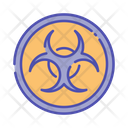 Biohazard Danger Toxic Icon