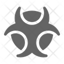 Biohazard Toxic Danger Icon