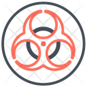 Biohazard Chemical Outbreak Icon