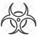 Biohazard Bio Danger Icon