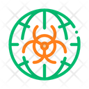 Biohazard Symbol Problem Icon