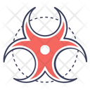 Biological Hazard Biohazard Biological Risk Icon
