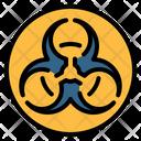 Biohazard Hazard Toxic Icon