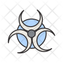 Biohazard Hazard Healthcare Icon