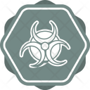 Biohazard Medical Sign Icon