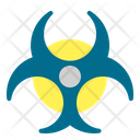 Biohazard Virus Mask Icon