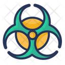Biohazard Danger Eco Icon