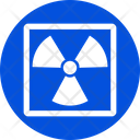 Biohazard Nuclear Decay Radioactive Icon