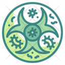 Biohazard Virus Bacteria Icon