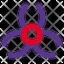 Biohazard Virus Coronavirus Icon