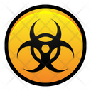 Biohazard Virus Disease Icon