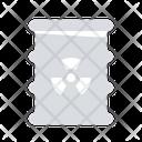 Biohazard Chemical Waste Icon