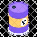 Biohazard Barrel Icon