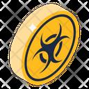 Biohazard Sign Icon