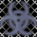 Biohazard Symbol Biological Hazard Biological Toxin Icon