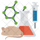 Biological Experiment Medical Study Frog Study Icon
