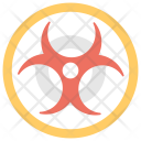 Biological Hazard Biohazards Icon