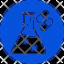 Biological Lab Chemistry Experimental Medicine Icon