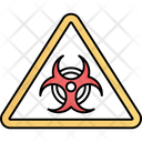 Biological Risk Danger Sign Danger Symbol Icon