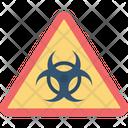 Biological Risk Danger Sign Danger Symbol Icon