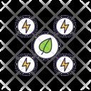 Biomass Biofuel Organic Source Icon