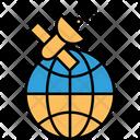 Biomass Satellite Global Navigation Satellite Radar Satellite Icon