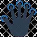 Biometric Finger Fingerprint Icon